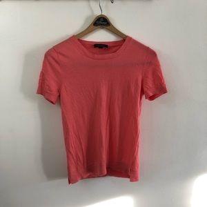 Ann Taylor Merino Wool Pink Shirt.